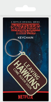 Nyckelring Stranger Things - Leaving Hawkins