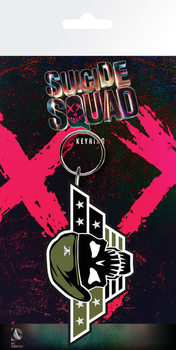 Suicide Squad- Rick Flag Nyckelringar