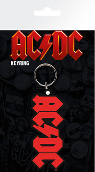 AC/DC - Logo Obesek za ključe