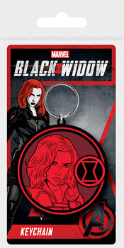 Obesek za ključe Black Widow - Mark of the Widow