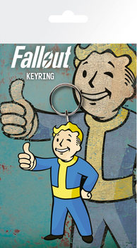 Fallout 4 - Vault Boy Thumbs Up Obesek za ključe