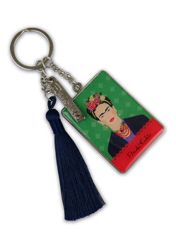 Obesek za ključe Frida Kahlo - Green Vogue
