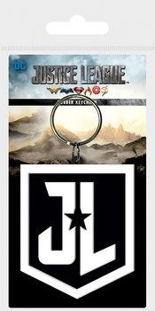 Justice League Movie - JL Shield Obesek za ključe