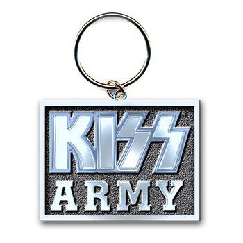 Obesek za ključe Kiss - Army Block