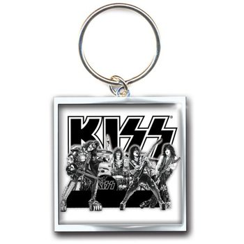 Obesek za ključe Kiss - Graphite Band