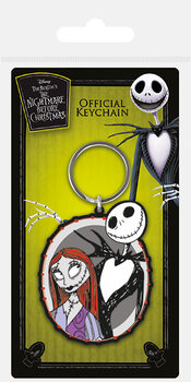 Nightmare Before Christmas - Jack & Sally Obesek za ključe