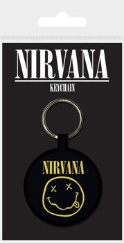 Obesek za ključe Nirvana - Smiley