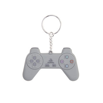 PlayStation - Grey Controller Obesek za ključe