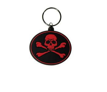 SKULL N'BONES - Red Obesek za ključe