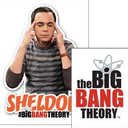 The Big Bang Theory - Sheldon Obesek za ključe