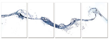 Abstraction of water Obraz