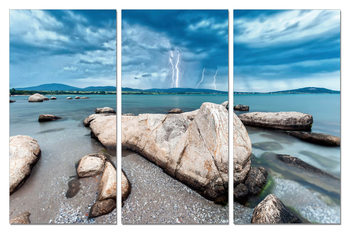 Stones on the coast Obraz