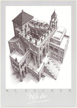 Ascending and Descending, 1960, Obrazová reprodukcia