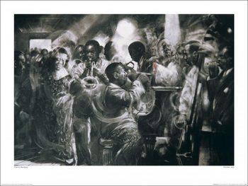 Charlie Mackesy - Chicken Jazz, Obrazová reprodukcia