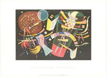 Composition X, Obrazová reprodukcia