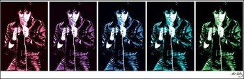Reprodukce Elvis Presley - 68 Comeback Special Pop Art