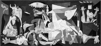 Reprodukce Guernica, 1937