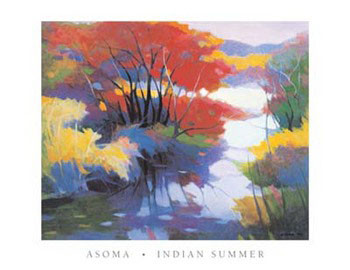 Reprodukce Indian Summer