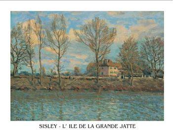 Island of La Grande Jatte, Obrazová reprodukcia