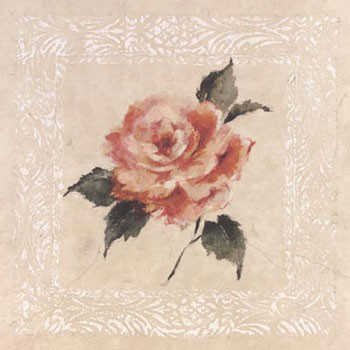Reprodukce Jardin Rose l