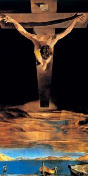 Reprodukce Kristus sv. Jana z Kříže, 1951