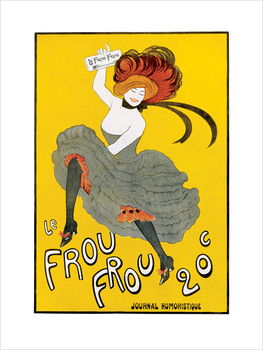 La Frou Frou, Obrazová reprodukcia