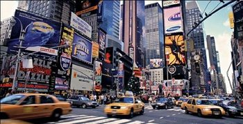 Reprodukce New York - Times Square