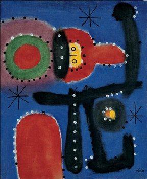 Reprodukce Obraz - Peinture, 1954