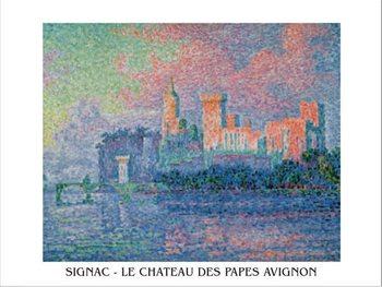Reprodukce Papežský palác v Avignonu