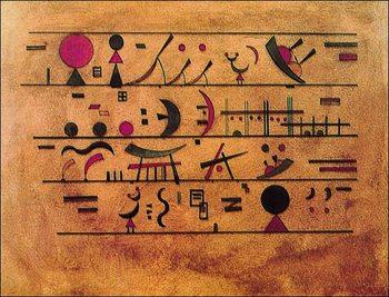 Righe di segni - Rows of Signs, Obrazová reprodukcia