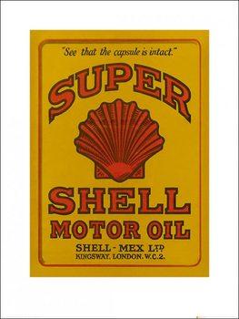 Reprodukce Shell - Adopt The Golden Standard, 1926
