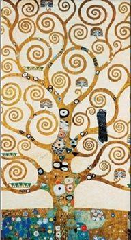 Reprodukce Strom života - vlys z paláce Stoclet, 1909