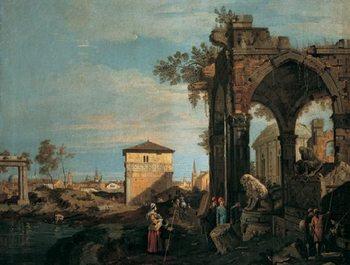 The Landscape with Ruins I, Obrazová reprodukcia