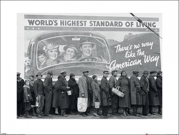 Time Life - World's Highest Standard of Living, Obrazová reprodukcia