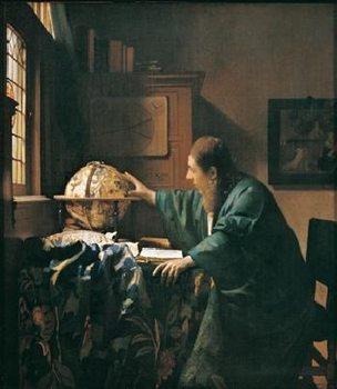 Reprodukce Vermee - Astronom, 1668
