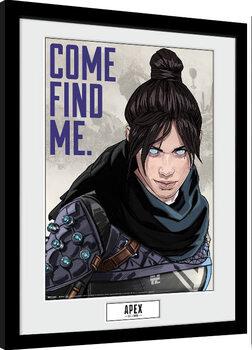 Zarámovaný plagát Apex Legends - Come Find Me