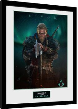 Zarámovaný plagát Assassin's Creed: Valhalla - Eivor