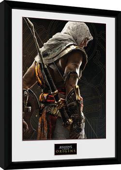Zarámovaný plagát Assassins Creed Origins - Synchronization