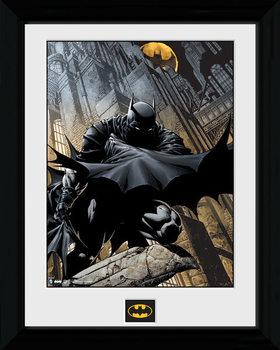 Zarámovaný plagát Batman Comic - Stalker
