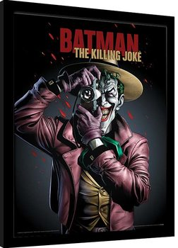 Zarámovaný plagát Batman - The Killing Joke Cover