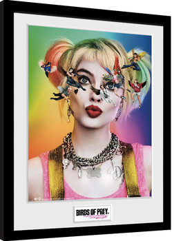 Zarámovaný plagát Birds Of Prey: Podivuhodná premena Harley Quinn - One Sheet
