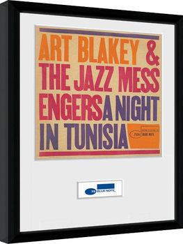 Zarámovaný plagát Blue Note - Tunisia