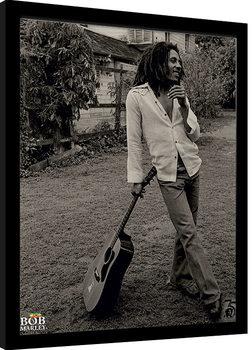 Zarámovaný plagát Bob Marley - Vintage
