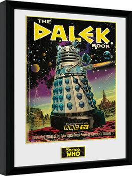 Zarámovaný plagát Doctor Who - The Dalek Book