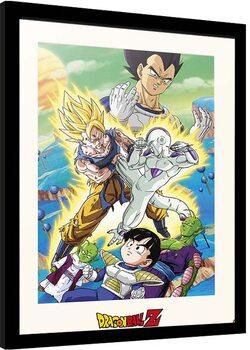 Zarámovaný plagát Dragon Ball - Freezer Encounter
