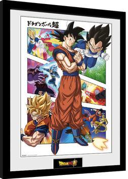 Zarámovaný plagát Dragon Ball - Panels