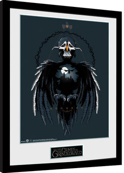 Zarámovaný plagát Fantastické zvery: Grindelwaldove zločiny - Augurey