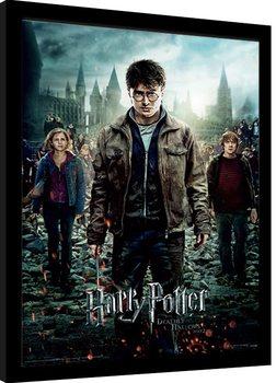 Zarámovaný plagát Harry Potter - Deathly Hallows Part 2