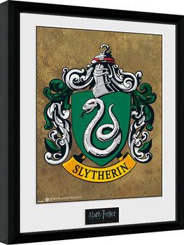 Zarámovaný plagát Harry Potter - Slytherin