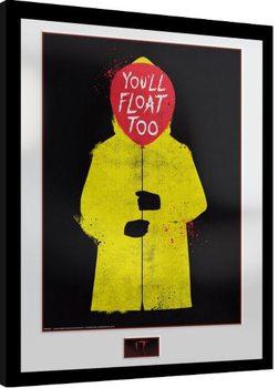 Zarámovaný plagát IT - Yellow Mac